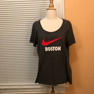 Nike Logo Boston T-shirt